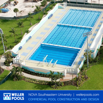 University Olympic Pool Builders Dania Florida
