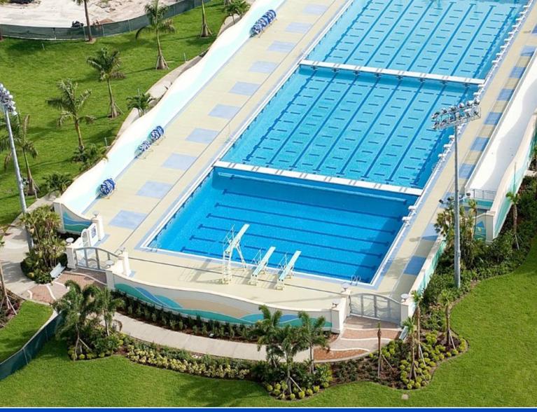 University Olympic Pool Builders Dania Florida